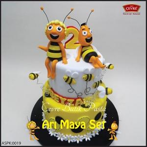 Resim Arı Maya Doğum günü parti seti