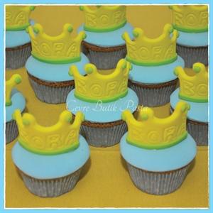 Resim Prens Taç Cupcake