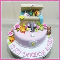 Kategori resimi Bebek Doğum günü Pastaları