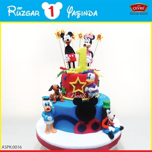 Resim Disney Doğum Günü Parti Seti aspk-0016