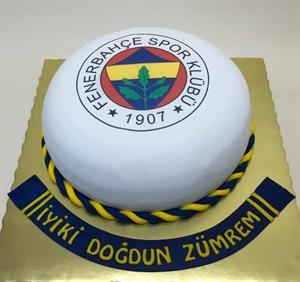 Resim Fenerbahçe Taraftar Pastası