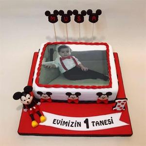 Resim Resimli Mickey Mause Pasta